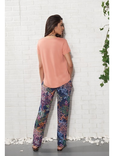 Gizzey Pijama Takım Renkli